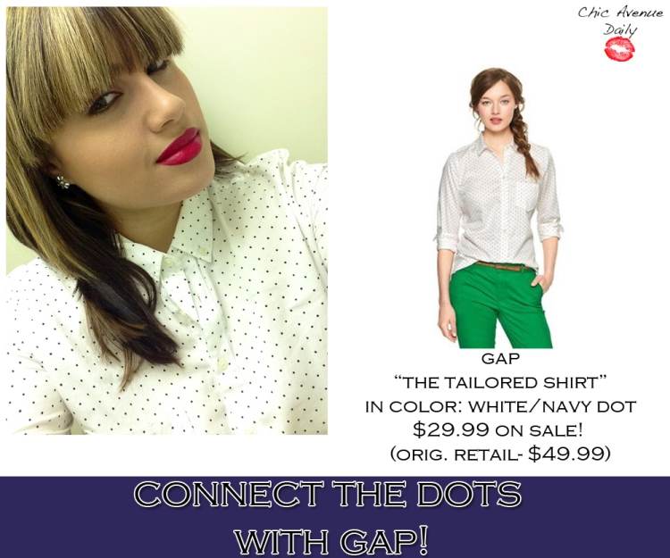 gaptailoredshirt