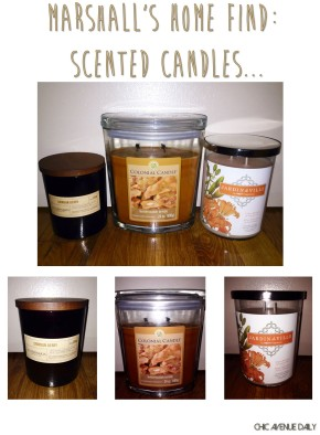 Marshall's Home Find: ScentedCandles…