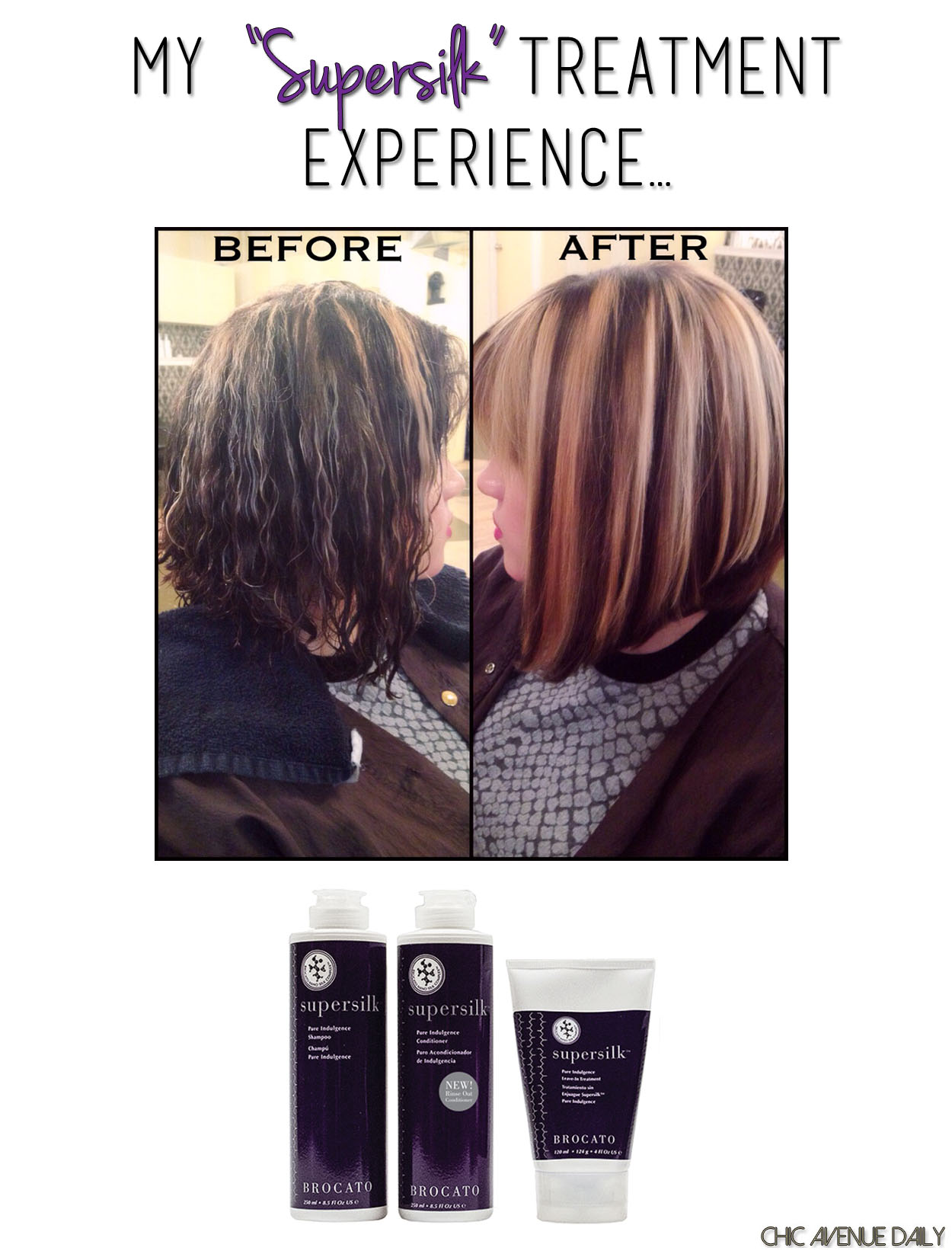 My Supersilk Treatment Experience Chic Avenue Daily